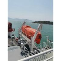 重力倒臂式救生艇降放装置2-北海救生