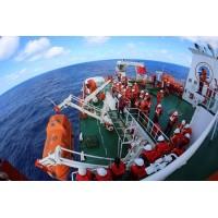 重力连杆式救生艇降放装置-北海救生