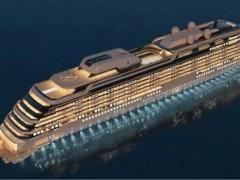 德国迈尔船厂1艘液化天然气(LNG)双燃料动力公寓式邮轮的建造合同