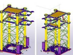润邦海洋超大型稳桩平台项目顺利开工