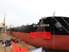 大船集团山船重工为中航租赁建造第4艘8.5万吨散货船命名交付